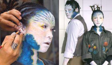 【成軍10周年】糖兄妹參加微電影比賽 化特技妝扮外星人